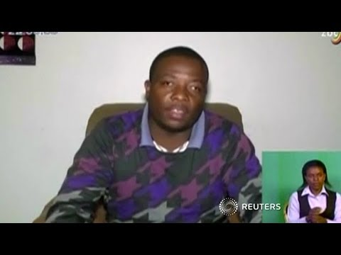 Zimbabwe youth leader apologises to military on state TV