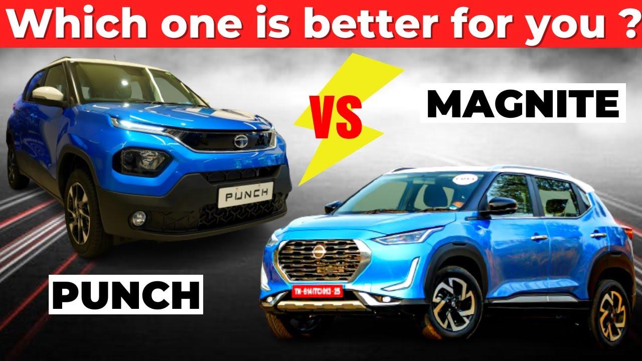 Tata Punch VS Nissan Magnite 💥 Which One Is Better For You ? | Magnite VS Punch 2021 | @YA YA V