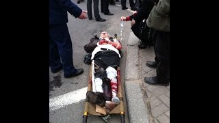 Первые секунды после взрыва в метро в Санкт-Петербурге