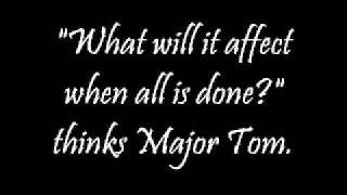 Shiny Toy Guns - Major Tom (Lyrics)