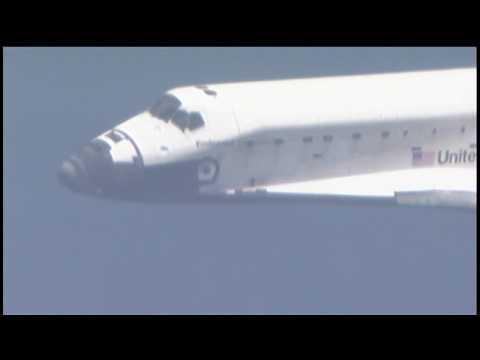 STS - 127 - Shuttle Endeavour Lands at KSC - HD