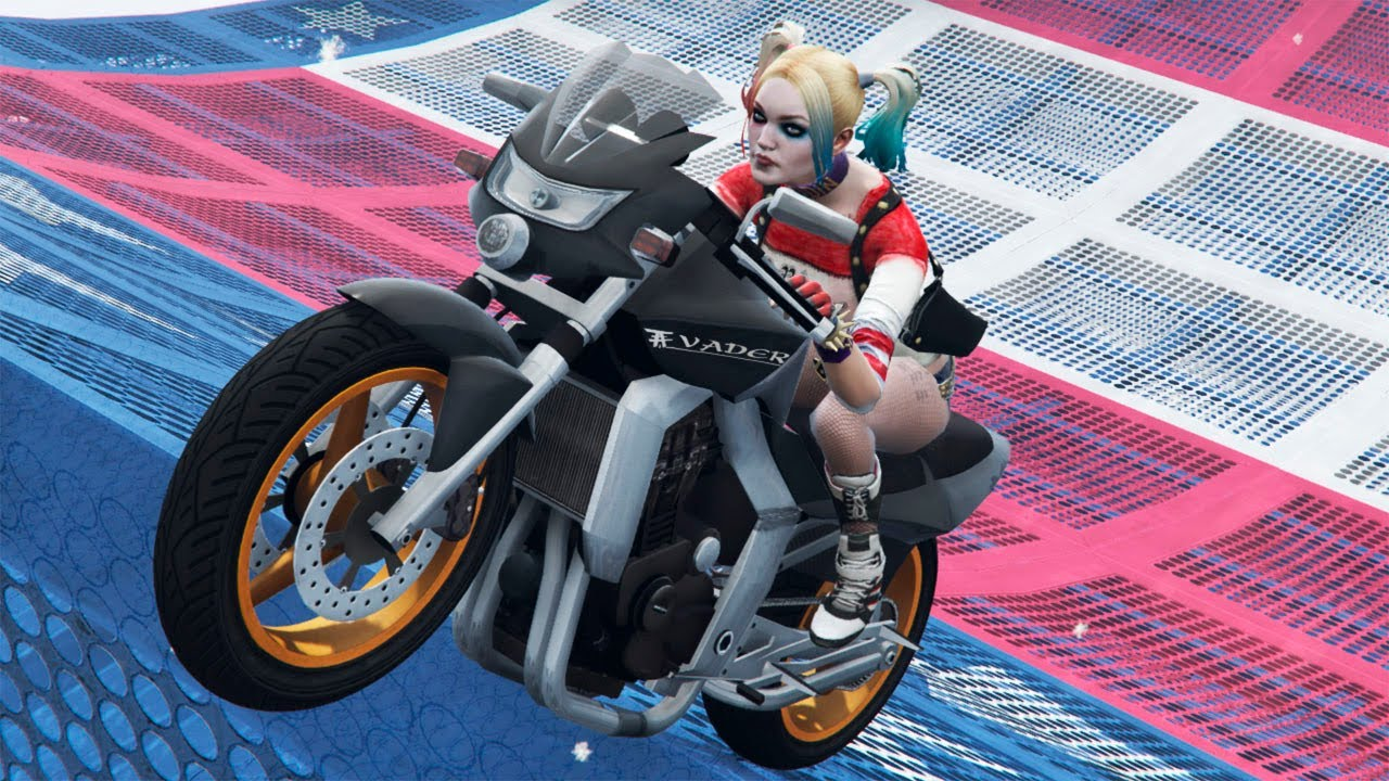 GTA 5 Impressive Ragdolls #29 (Harley Quinn - Epic Mega Ramp Fails )