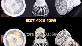 видео Светодиодные лампы GU5