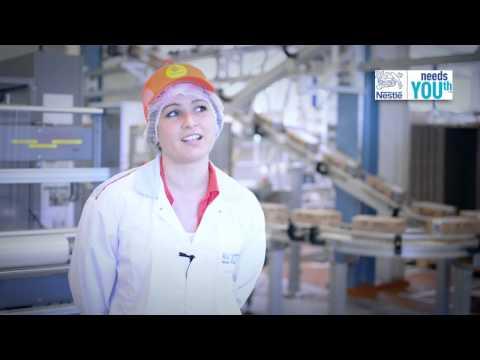 Nestlé Needs YOUth - Interview Christina Stützle