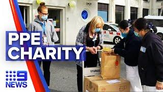 Coronavirus: Buddhist charity to aid Victorian PPE shortages | 9 News Australia