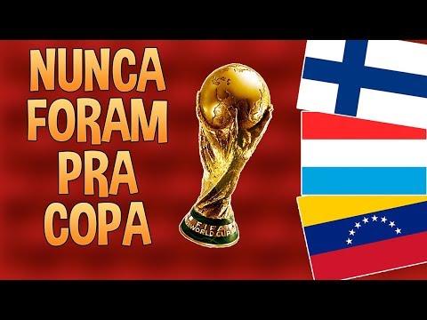 SELEÇÕES QUE NUNCA FORAM PRA COPA DO MUNDO!!
