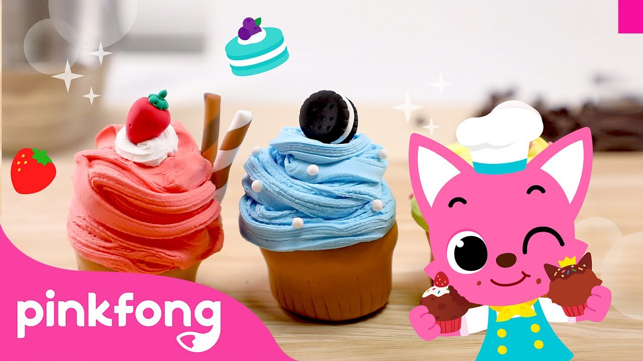 🧁How to make Cupcake with Clay | Clay Bakery | Pinkfong Clay Time