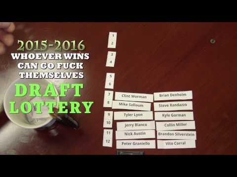 Krap Sports: FF Draft Lottery 2015