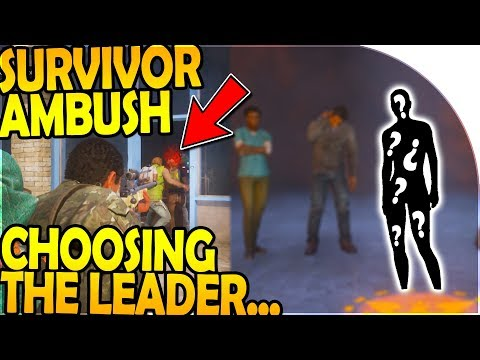 SURVIVOR AMBUSH - CHOOSING a HERO for LEADER (State of Decay 2 Gameplay Part 6)
