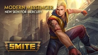 SMITE - New Skin for Mercury - Modern Messenger thumbnail