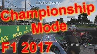 F1 2017 Game - Championship Mode - Classic Car Series!