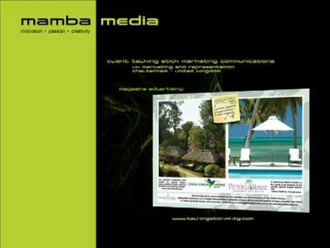 2010 Portfolio - Design, Websites & Digital Media for Travel and Tourism