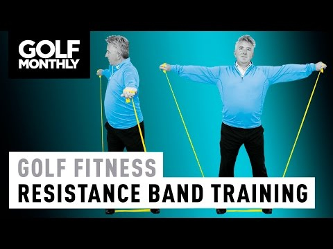 Golf Fitness Drills – Resistance Band Training