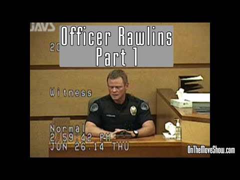 Officer Rawlins | Part 1: Prosecution | Open Carry Trial PT #20 | OnTheMoveShow