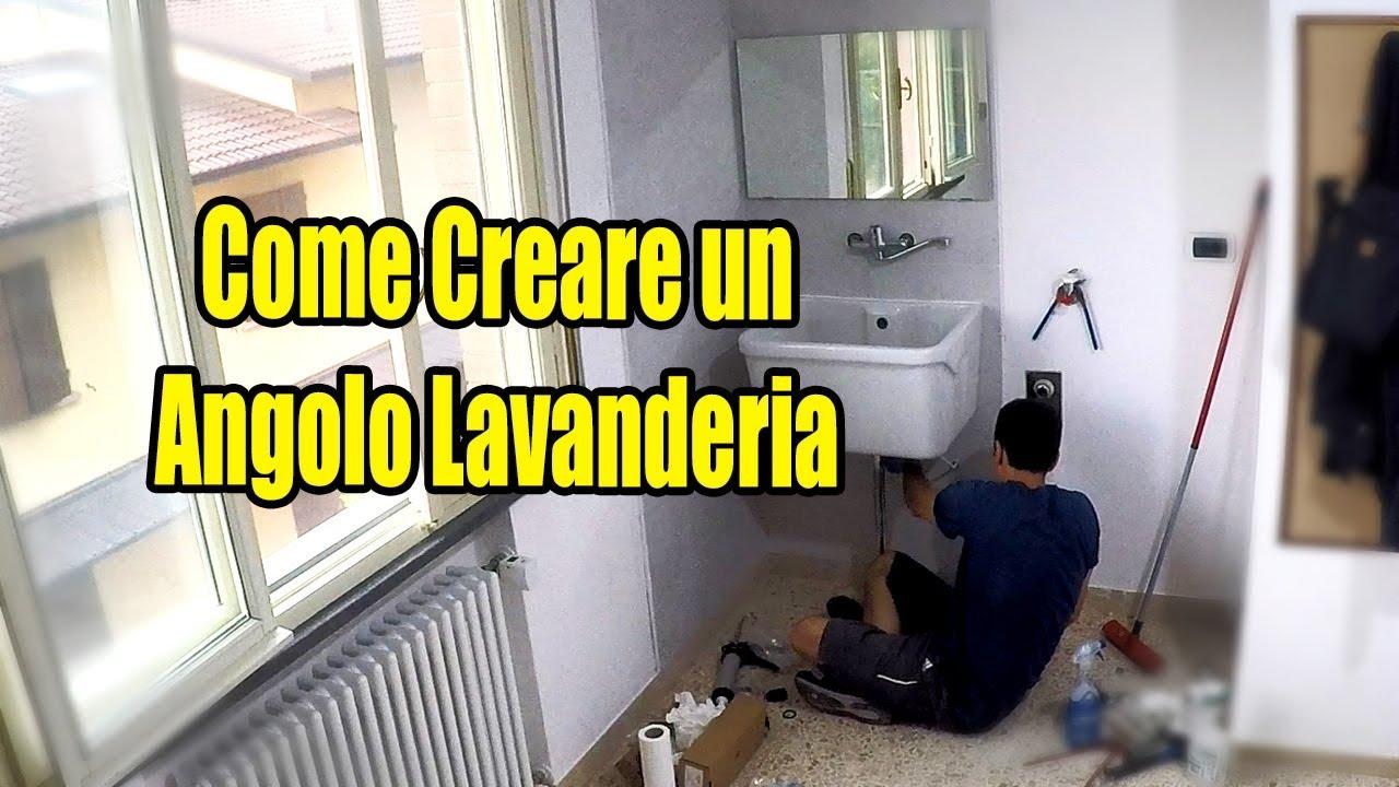 Angolo Lavanderia Stireria : Creare un angolo lavanderia tutorial in timelapse youtube