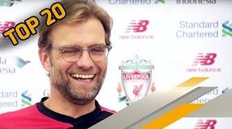 Top 20 Sprüche von Jürgen Klopp beim FC Liverpool | SPORT1 Rankings