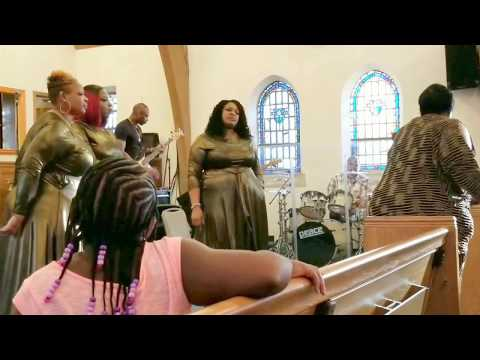 Anna Caldwell & Caldwell Gospel Singers,  West Point, Mississippi