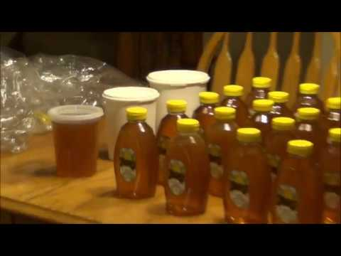 Harvesting 127 Lbs Of Raw Honey From Two Colonies