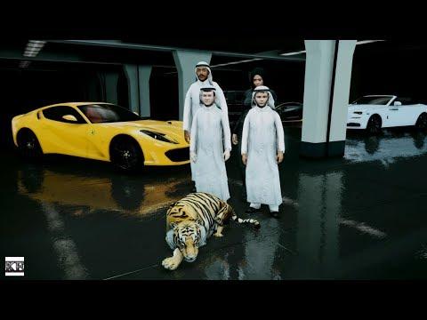 GTA 5 REAL LIFE PRINCE OF DUBAI MOD SS2 #1