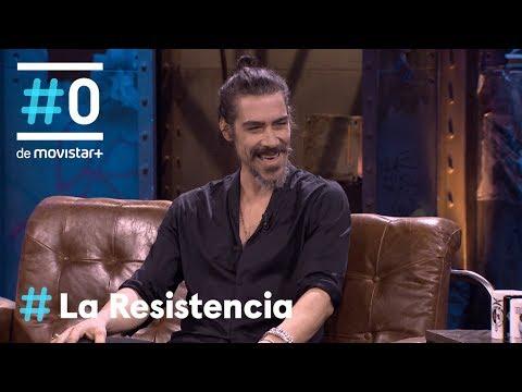 LA RESISTENCIA - Entrevista a Óscar Jaenada   #LaResistencia 17.01.2019