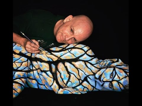 Craig Tracy Body Painting Icon