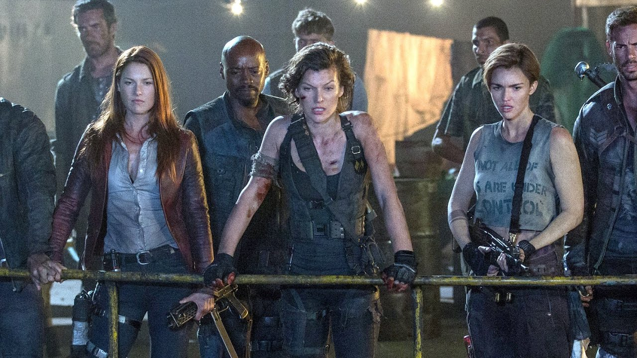 Resident Evil The Final Chapter: 【惡靈古堡:最終章 Resident Evil:The Final Chapter】電影片段No.2