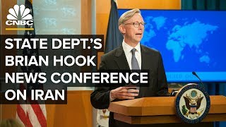 WATCH LIVE: State Department's Brian Hook discusses attack on Iranian oil tanker – 10/11/2019