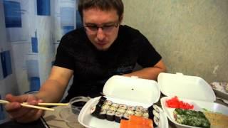 Еда Человека: роллы на заказ(, 2015-07-30T15:59:22.000Z)