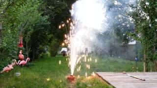Fireworks - Desert Moon