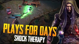 SHOCK THERAPY! Vainglory 5v5 Gameplay - Samuel |CP| Top Lane Gameplay