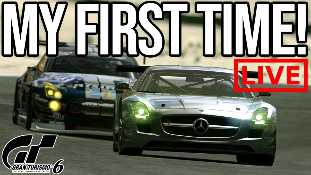 Playing Gran Turismo 6 For The First Time!!!