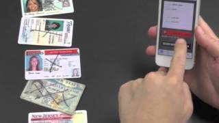 iPhone 5 Camera ID Scanner - Free iTunes App Video