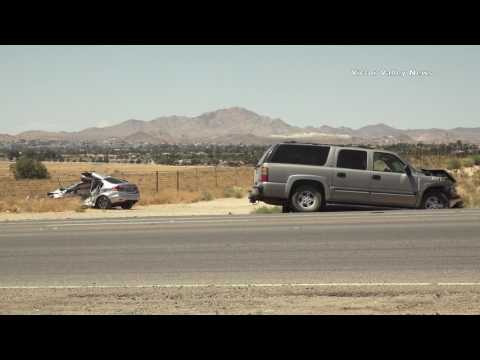 2 Killed in Apple Valley Crash on Bear Valley Road