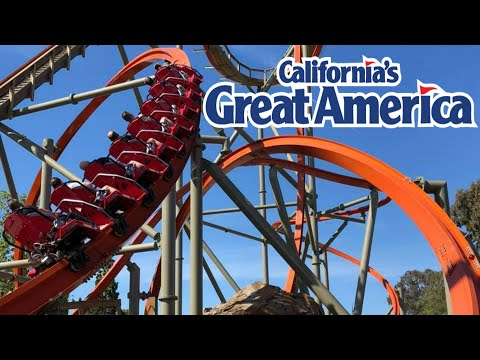California's Great America Tour & Reivew with The Legend