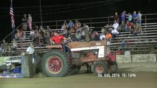 FARM STOCK TRACTORS CLOSED COUNTY FAYETTE COUNTY, INDIANA FAIR PULL AUGUST 6, 2016