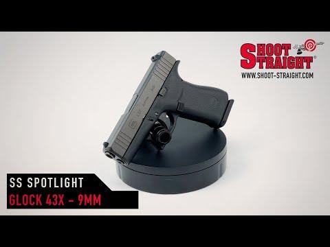 Glock 43X 9mm Pistol - Shoot Straight Spotlight