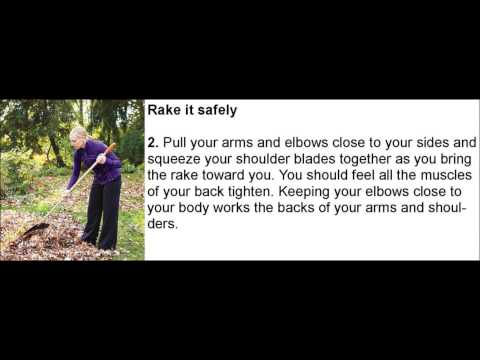 gardening exercise tips