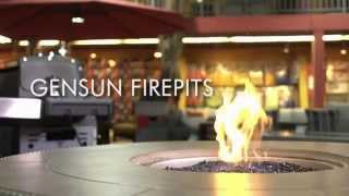 Barbecues Galore Woods Fireplaces: Gensun Firepits