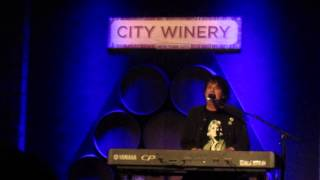 BURTON CUMMINGS Stand Tall, with touching intro; NY City Winery 7/30/13