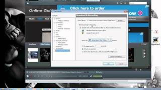 How to download a movie using realplayer..