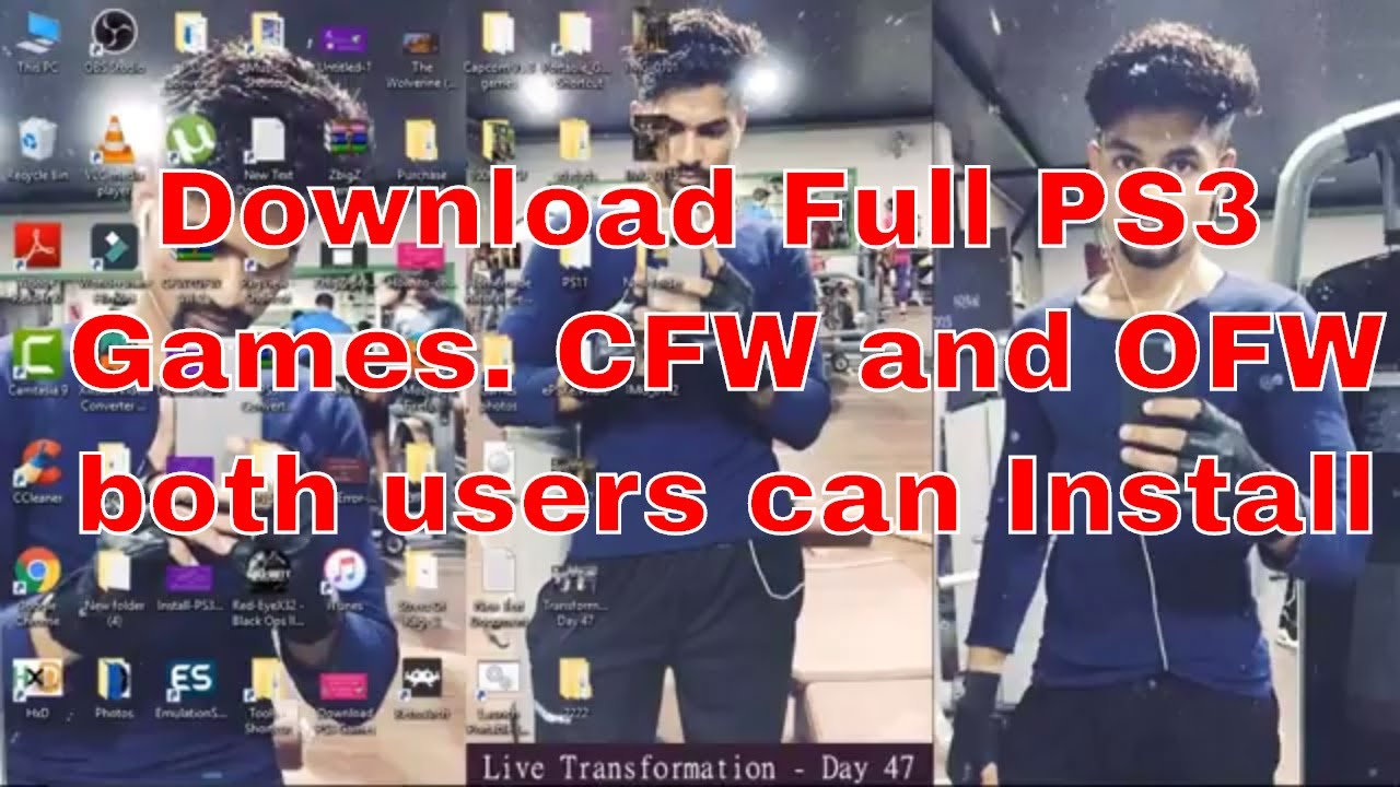 How to download full PS3 games for free - CFW and OFW 4 81