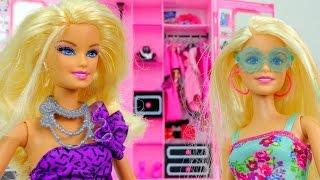Видео для девочек.  Новый наряд Барби.