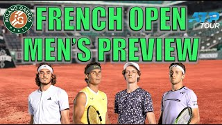 2021 French Open Men's Preview