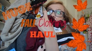 HUGE Fall Clothing Haul! Thumbnail