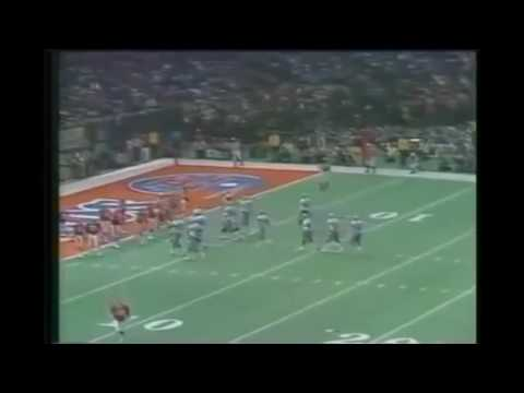 Super Bowl Xll Dallas Vs Denver 1978 Tony Dorset 1st T.D. Of Game