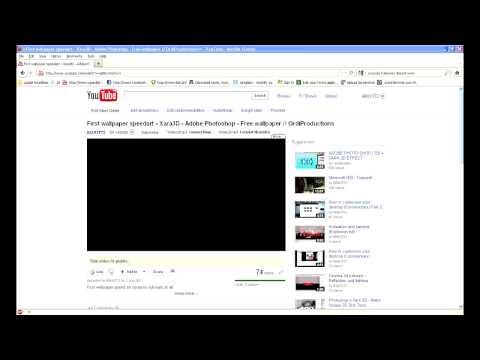 How to fix blank black youtube FULLSCREEN problem