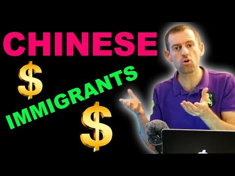 CHINESE IMMIGRANTS - Flash Money?