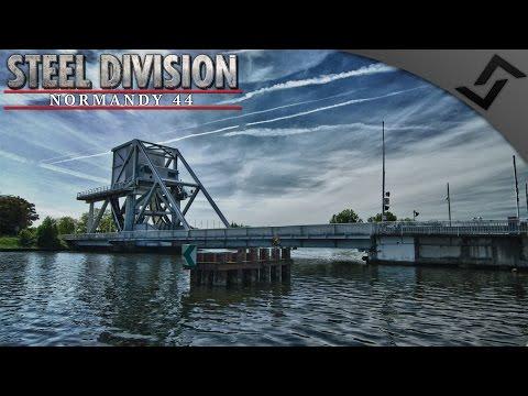 Pegasus Bridge Counterattack German Campaign Mission 2 - Steel Division: Normandy 44 - Beta Gameplay