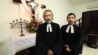 Ucapan Selamat Natal dari Pendeta HKBP Serpong