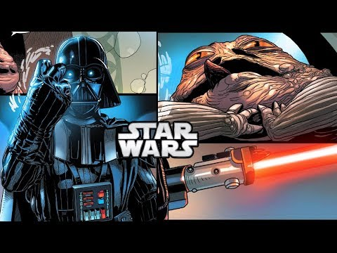 Download Youtube: How Darth Vader FORCE CHOKED Jabba The Hutt (CANON) - Star Wars Explained